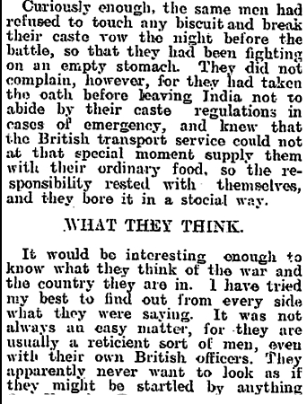 Newspaper clipping from The Evening Post, Thursday December 31, 1914 - Part 6